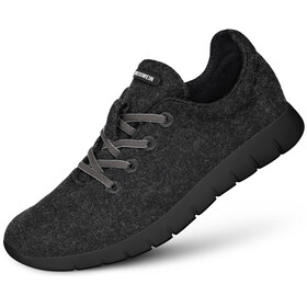 Giesswein M's Merino Runners Mid Shoes Anthracit